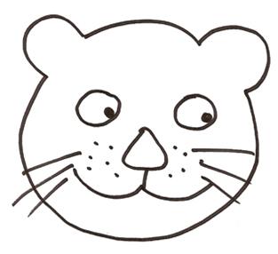 Activit s du mois - Tete de lion a dessiner ...