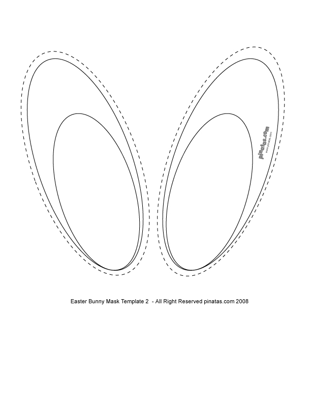 Printable Mask Template Hidalma De Hidalmad On Pinterest