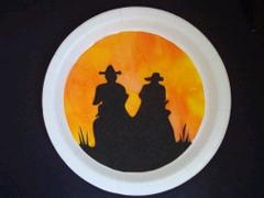 activite manuelle indien cowboy
