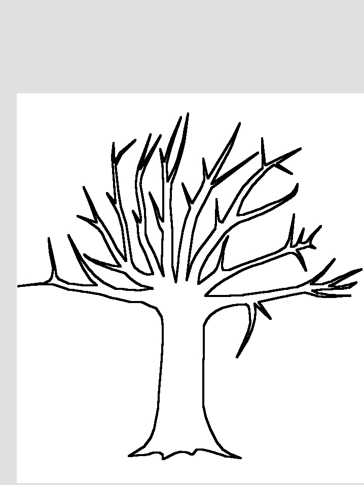 Coloriage arbre en t - Coloriages arbres ...